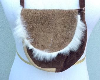 Small Fur satchel