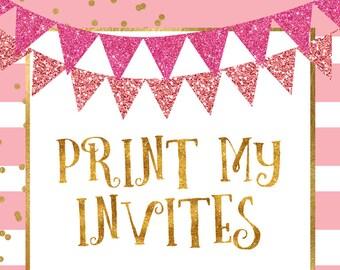 bridal shower invitations, baby shower invitations, graduation announcements, graduation invitations, wedding invitations, birthday