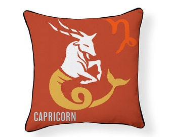 ZODIAC PILLOW: Capricorn