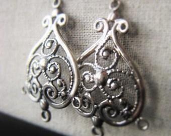 Sterling Silver Ornate Chandelier Item No. 5562