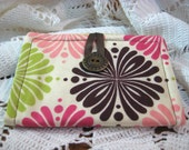 Full Size Tea Wallet with Ribbon .....Great Hostess Gift