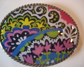 Womens Belt Buckle - Carly