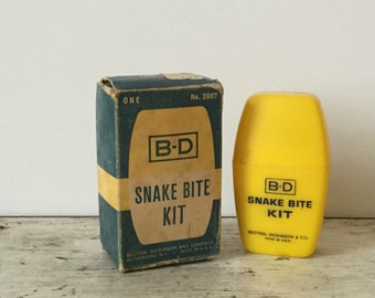 BD Snake Bite Kit in original box