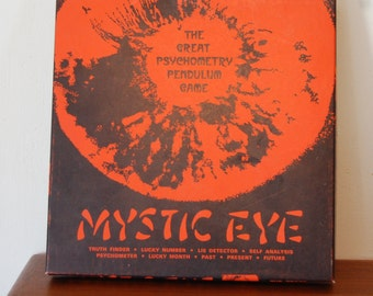 Vintage Mystic Eye Fortune Telling Game 1950s Clark Publishing Company Psychometry