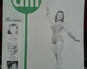 Vintage 1950's Drum Major Magazine , June 1959, Drum Majorettes, Acrobatic Dancers, Twirlers, Cheer Leaders, Dancers, Marching Band