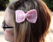 Knit Hair Bows - 2 for 13.00