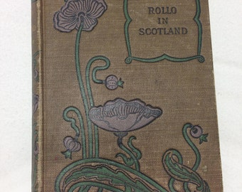 Rollo in Scotland by Jacob Abbott Antique Children's Book