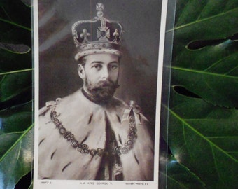 Postcard King George V