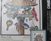 Dimensions Stamped Cross Stitch Kit Dinner Call