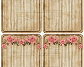 Shabby Chic Digital Collage sheet for scrapbook and cards Mini album Journal Tag  DC737