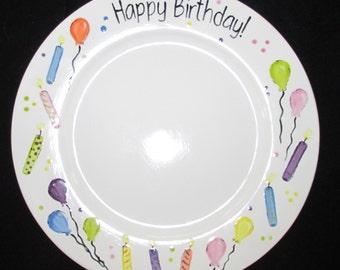 """14"""" Happy Birthday Platter"""