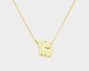Baby Elephant Necklace*