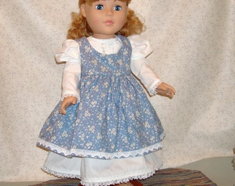 jumper and dress for 18 inch dolls