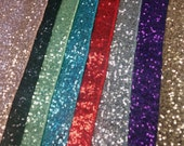 "SEQUINS CENTERPIECE SQUARES, Rounds, Placemats Colors  Sequin  Square,  Round 12, 16, 18""  Silver, Gold, Purple, Red Turquoise Wedding"