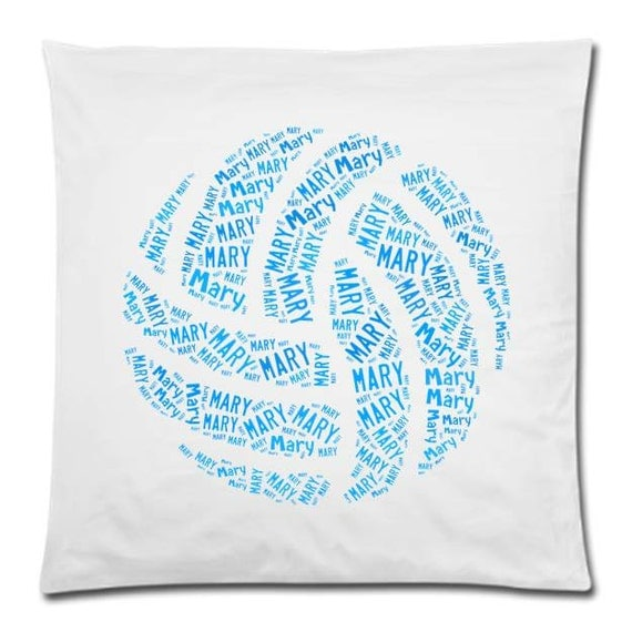 Personalized Pillow Cover Volleyball Team Pillow Name Room