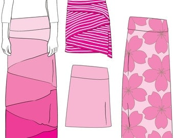 Conifer Skirt Sewing Pattern