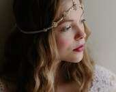 Boho wedding hair chain Moroccan bridal headdress - It Girl no. 2095