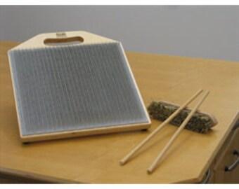 Louet Blending Board, Create Your Own Custom Fiber Color Blends