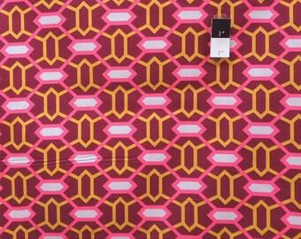 Joel Dewberry JD50 Heirloom Marquis Garnet Cotton Fabric 1 Yard