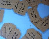 Personalised tag printing service add-on