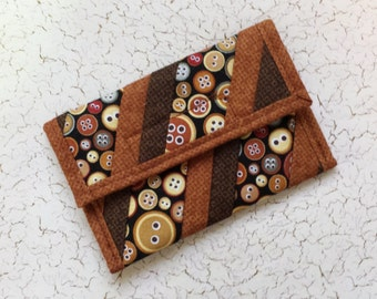Quilted Coin Purse (CP136)