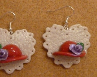 Red Hat Society Earrings