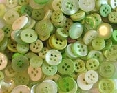 Lime Green Buttons By The Cup, Scrapbooking Buttons, Craft Buttons, Cardmaking Buttons, Sewing Buttons, Buttons In Solid Color