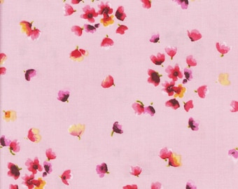 Maywood Studio Catalina 8404 P Tiny Flowers on Pink by the yard