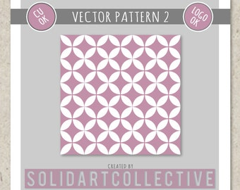 Vector Pattern 2 - OK for Logos, Merchandising, Commercial, Invitations and More!