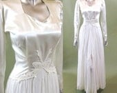 New Hope wedding gown | vintage 1940s wedding dress | 40s wedding dress