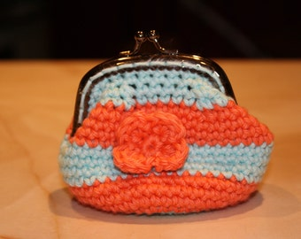 Crocheted Change Purse