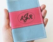 Personalized Passport Cover - Leather Passport Cover - Personalized Christmas Gift Idea- Passport Case - Monogram passport case - journal