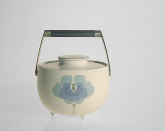 Tapio Wirkkala Small Blue Flower (Blau Blume) Lidded Pot