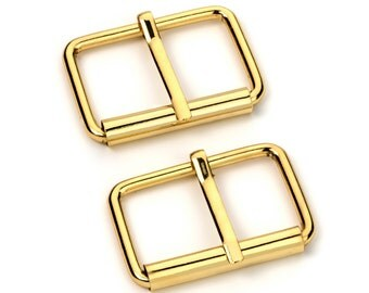 "30pcs - 1 1/2"" Roller Pin Belt Buckles - Gold - Free Shipping (ROLLER BUCKLE RBK-121)"