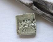 Minimalist Shawl Pin, Sweater Brooch, Handmade, Porcelain, Cheldena, Ceramic Jewelry, Pottery Jewelry, Artisan