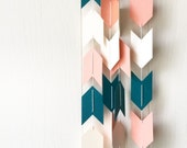 Arrow Garland in Teal Salmon and Champagne