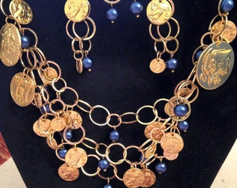 Golden Coins & Pearls