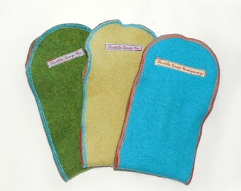 Wee Woolie Booster 3 PAK - diaper doubler inserts