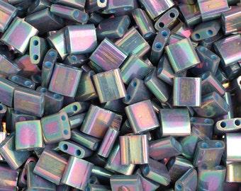 10 Grams Japanese Miyuki Tila Beads-Flat Square 5x5x1.9mm (TL1898)