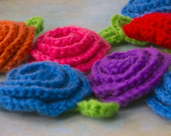Kitchen Scrubbies, Japanese Tawashi Pot Scrubbers,  Eco Friendly,  Crochet Scrubbies, Dish Scrubbies, Flower Decor