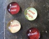 Wine-o dainty gem magnet gift set