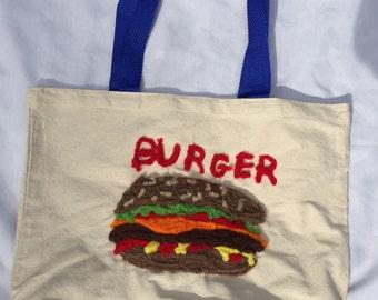 Juicy Burger Tote