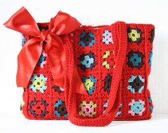 Crochet shoulderbag Ricky