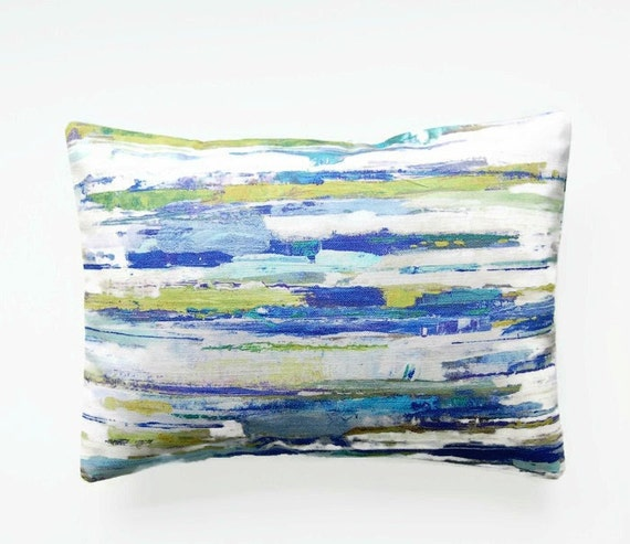 12 Inch Throw Pillow Covers : 12 x 16 inch lumbar decorative pillow cover abstract art