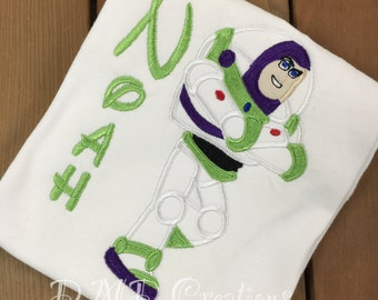 Buzz  Applique Shirt