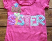Big Sister Shirt, Big Sis, Sibling Shirt, Little Sister, Lil Sis, New Baby Announcement, Baby Shower Gift, Take Home Outfit, Ready to Ship