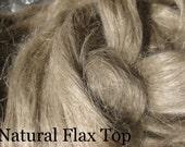 Natural Flax Top