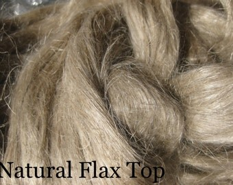 Natural Flax Top