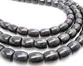 Sugilite Beads, Sugilite Barrels, AAA Grade Sugilite, Purple Gemstone Beads, SKU 4431A