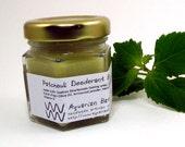 Patchouli Deodorant Balm - Natural Deodorant - Aluminum Free deodorant - Vegan deodorant - Plastic free  1.5 oz